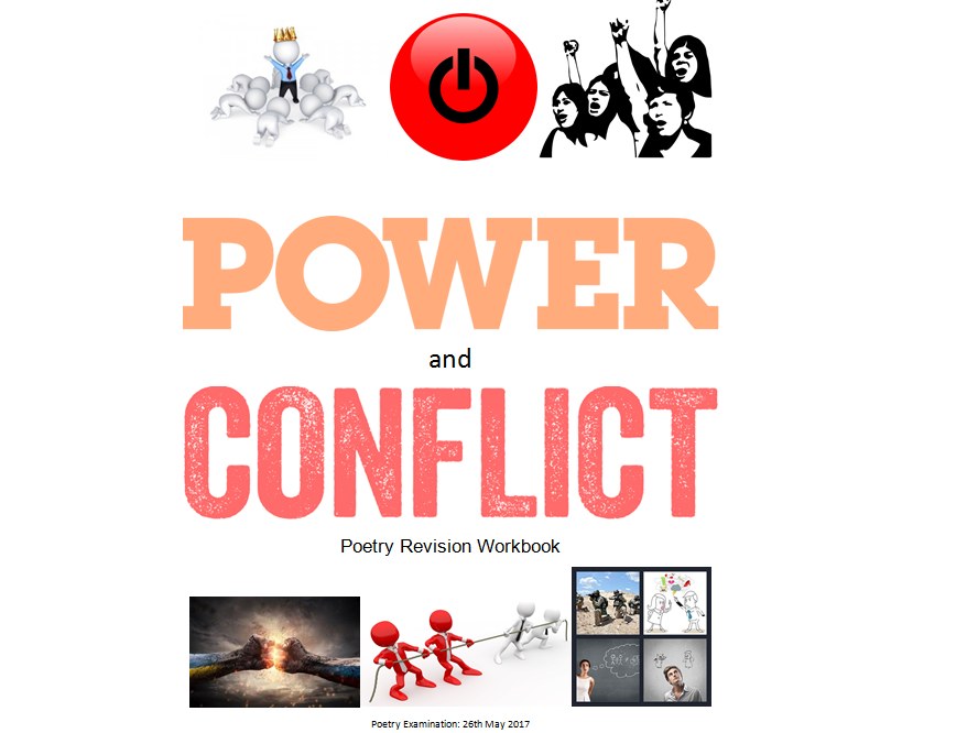 AQA Power and Conflict Poetry workbook