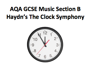 AQA GCSE Music Section B Haydn practise questions