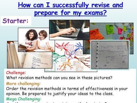 GCSE Revision + Revision Study Skills