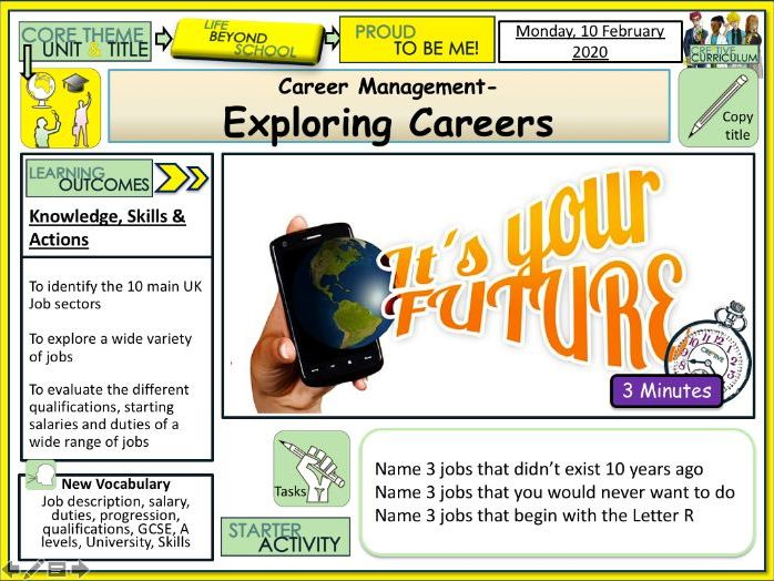 Exploring Different Careers