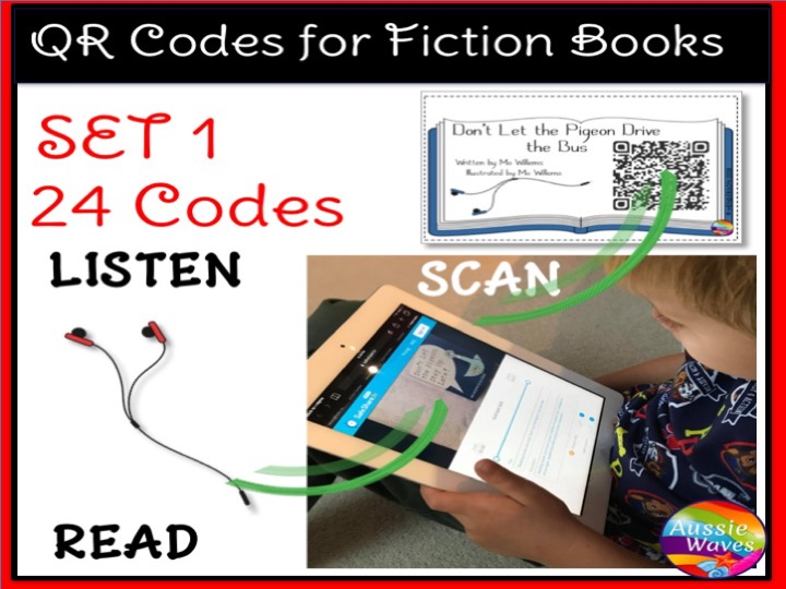 QR Codes for Listening Station Centre Activities
