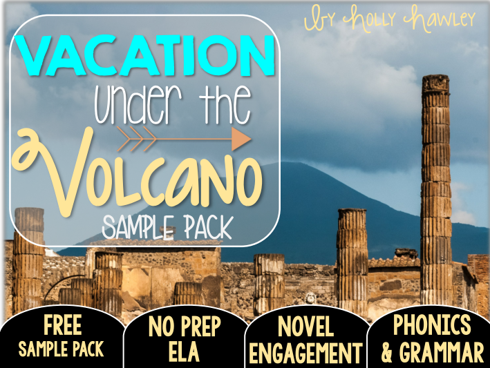 Vacation Under the Volcano NO PREP (ELA) SAMPLE