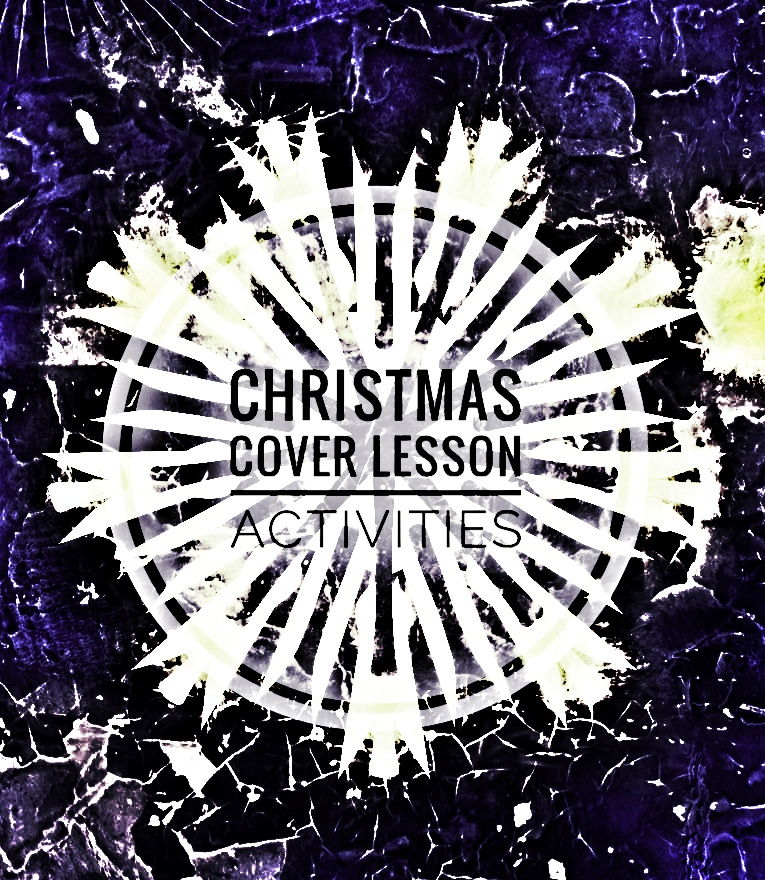 Christmas Cover Lesson Activities 2017.