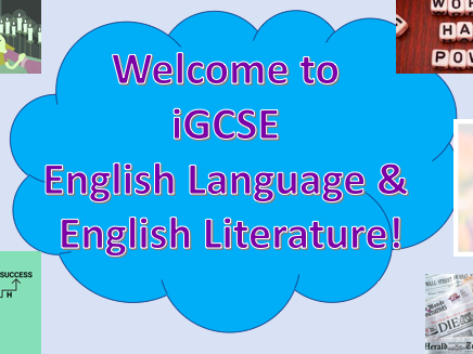 iGCSE Edexcel English Language and Literature - Introduction to the Course - Overview