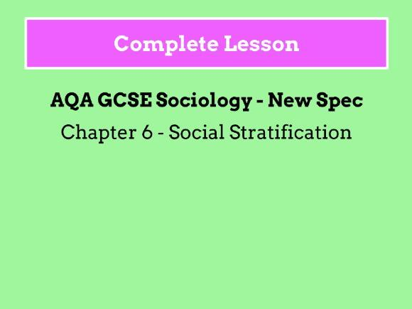 Lesson 20 - Sociological Perspectives on Poverty