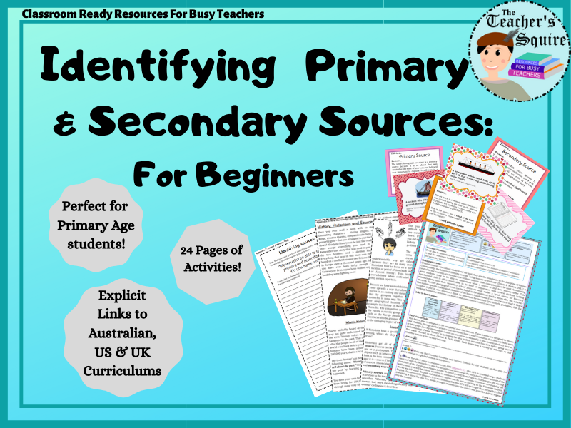 Identifying Primary and Secondary Sources: For Beginners