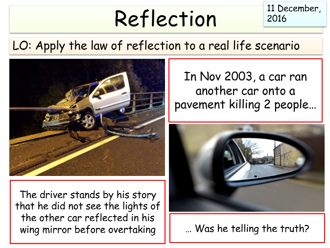 KS3 (light unit) - Reflection
