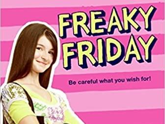 Freaky Friday literacy intervention