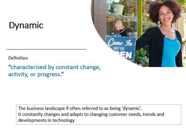 9-1 GCSE Business Theme 1.1 Bundle  of lesson PowerPoints