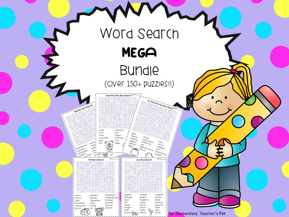 Word Search MEGA Bundle