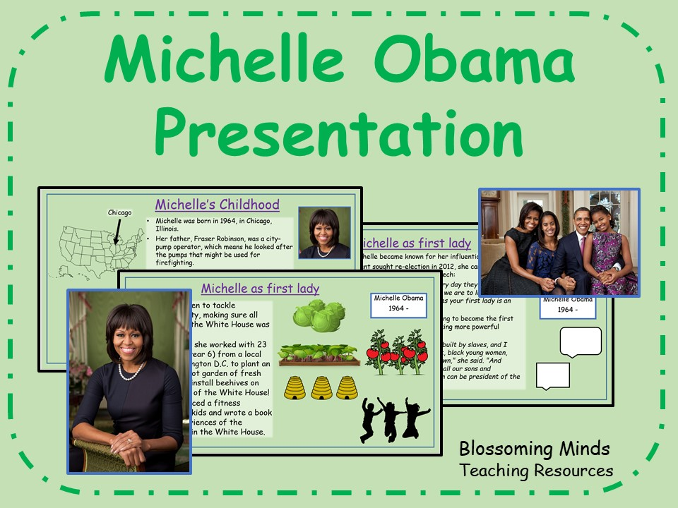 Michelle Obama Presentation - Black History Month
