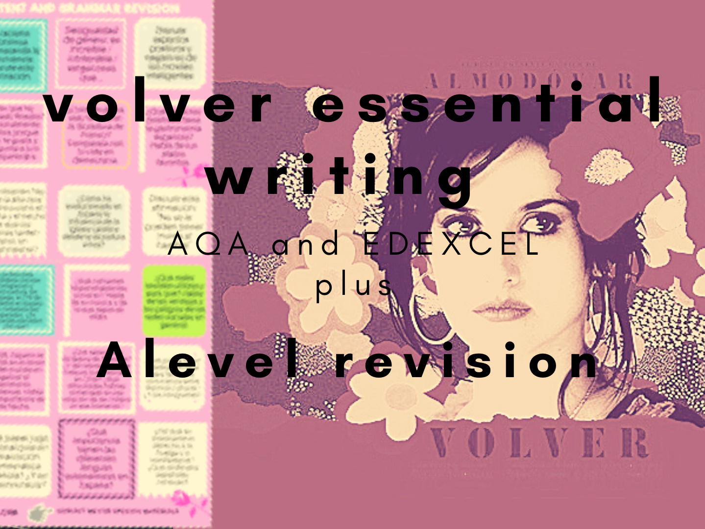 Volver all resources & A level revision
