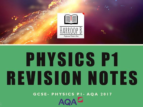 GCSE Physics P1 Revision Notes AQA