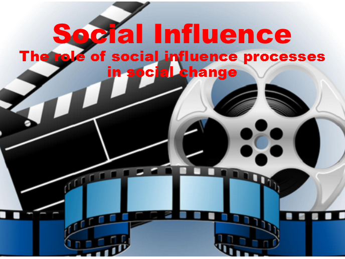VIDEO Lesson 12 - The role of social influence processes in social change