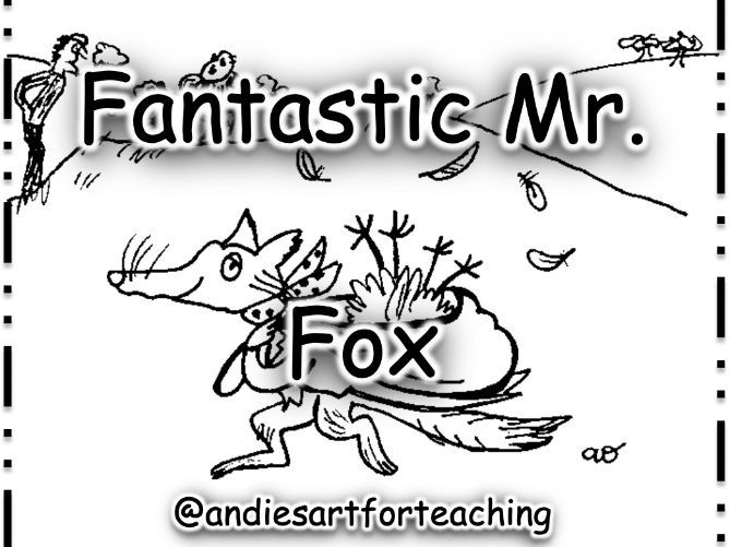 Fantastic Mr Fox: Cut, sequence, colour and write about the story
