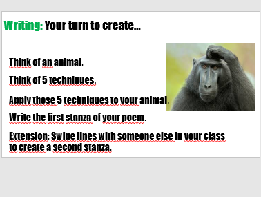 KS3 Introduction to poetry.