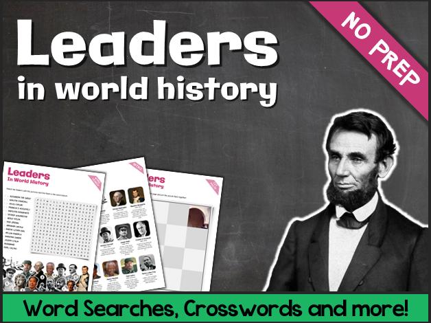 World Leaders (Puzzles & Fun Stuff)