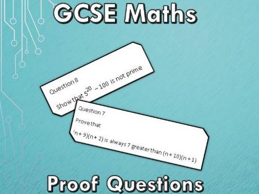 GCSE Maths 9-1 Proof Exam Questions