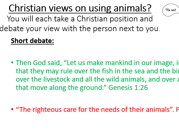 Animal rights - lessons and booklet