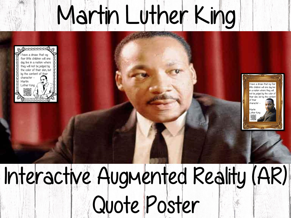 Martin Luther King Interactive Quote Poster