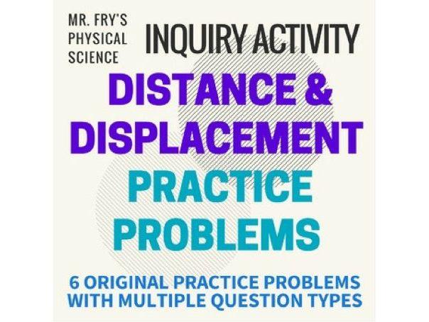 Distance & Displacement Practice Problems