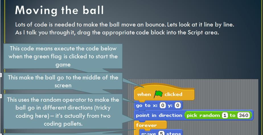 Simple Pong game - bat and ball made on scratch(1)
