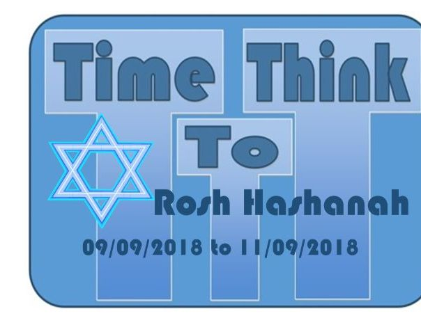 ROSH HASHANAH Assembly September 2018 TTT