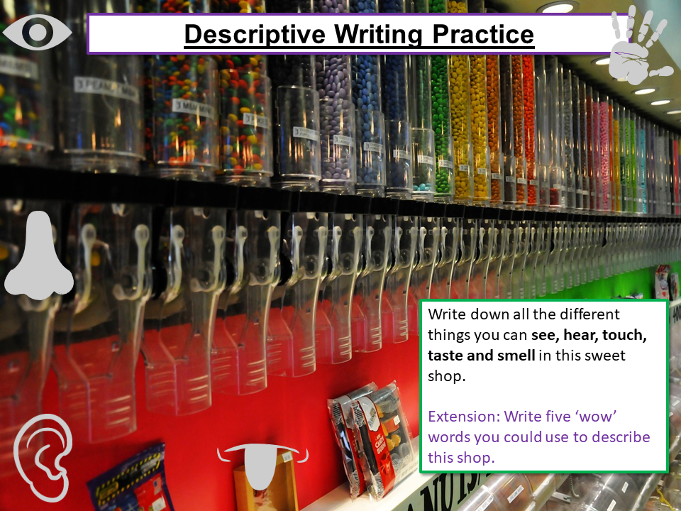 Descriptive / Creative Writing Practice