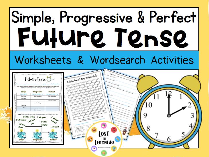 Future Tense: Simple, Progressive, Perfect