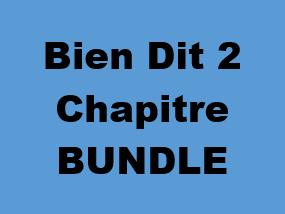 Bien Dit 2 Chapitre 3 Bundle