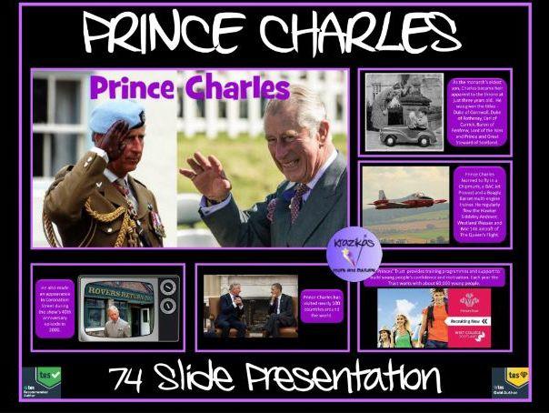 Prince Charles: 70th Birthday PowerPoint Presentation