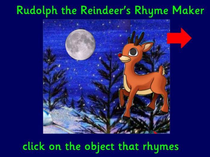Rudolph Rhyme Maker