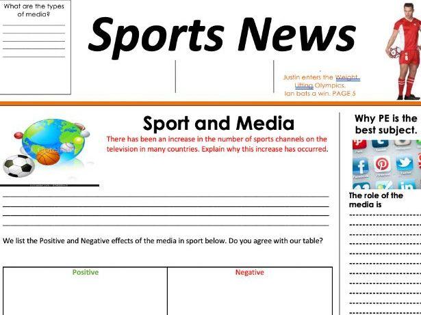 Sport and Media GCSE PE