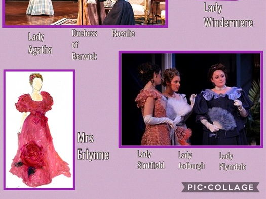 Lady Windermere's Fan- Characters and Costumes