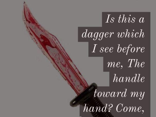 Macbeth AQA: The dagger scene ACT 2 SCENE 1