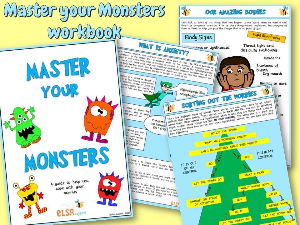 Anxiety booklet - Master your monsters