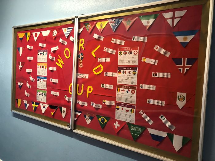 World Cup Display 2018