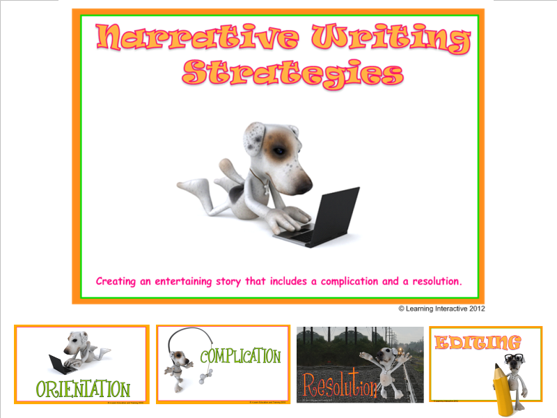 Imaginative Texts - Working with Narrative - Year 5 + 6