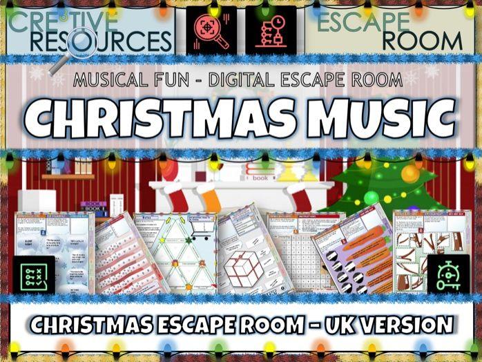 UK Christmas Music Escape Room