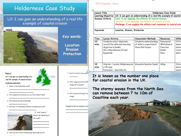 Coastal Erosion Case study - Holderness