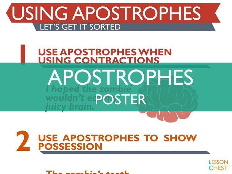 Apostrophes Poster
