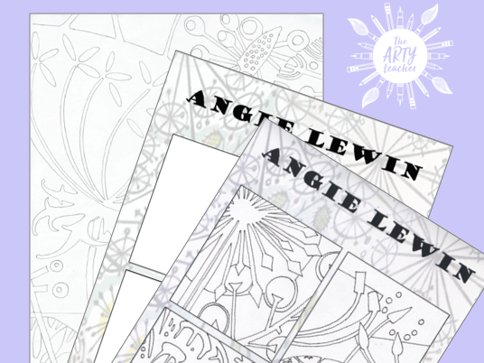 Angie Lewin Artist Resources