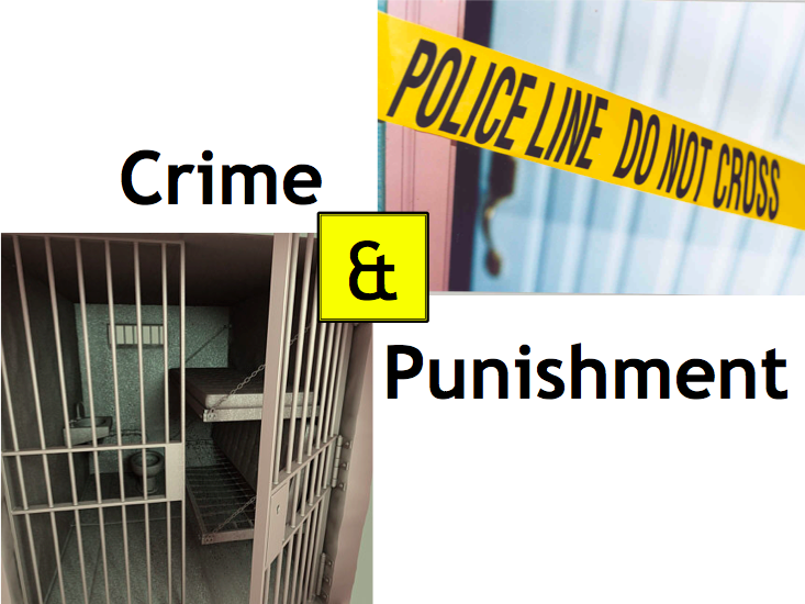 Crime and punishment full 7 lesson unit (KS3 new knowledge based curriculum 2017)