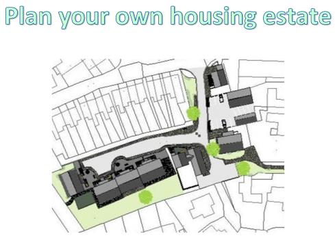 KS3 Settlements - Plan your own housing estate