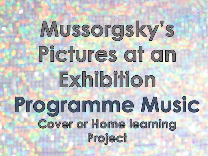 Pictures at an Exhibition - Homelearning/Cover