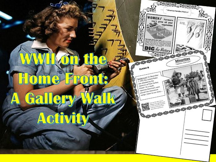WWII on the Homefront: A Gallery Walk Activity (U.S. History)