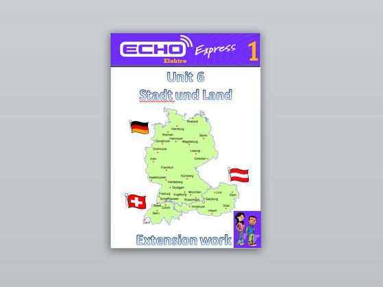 Echo Express 1 Module 6 Extension Booklet