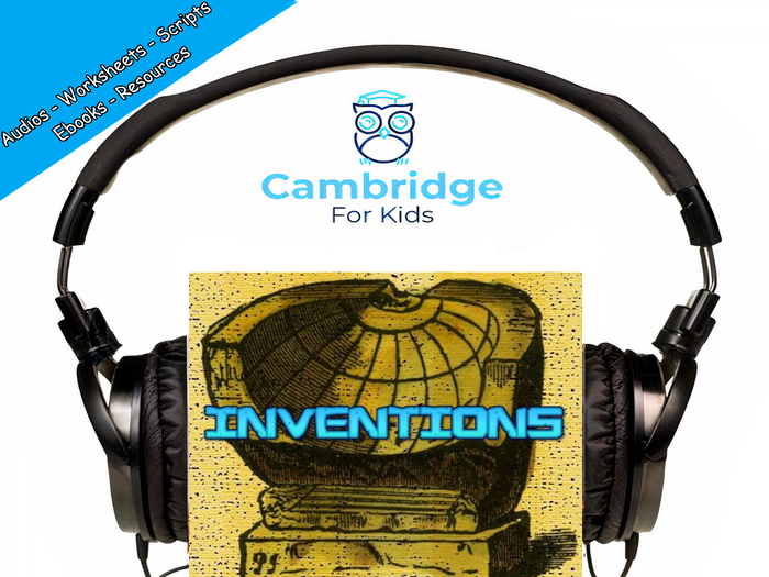 Egyptian Inventions Audiobook & Comprehension Activities / Worksheets / eBooks