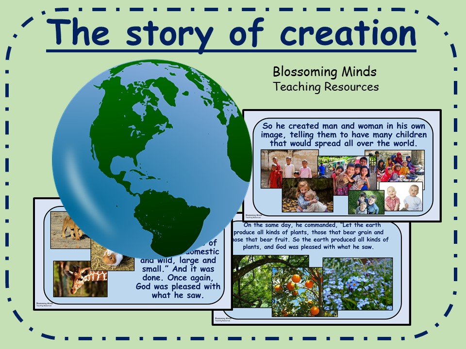 RE/Assembly presentation - Christian story of creation