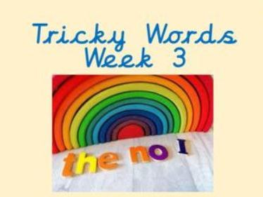 Phonics- tricky words Phase 2 (perfect for Home learning)